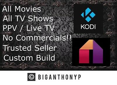 New Quad Core AMAZON FIRE TV STICK-PLATINUM! KO*DI 16.1, FULLY LOADED Mobdro!