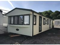 Static caravan for sale. Double glazed central heated