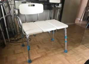 Shower Bench - EXCELLENT CONDITION