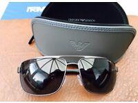 Emporio Armani; Polarised Sunglasses; EA2018 3003/T3
