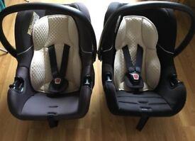 2X Mothercare Car seats