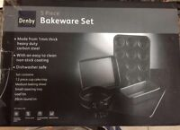 NEW IN BOX 5piece Denby Bakeware Set COST $120