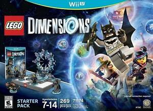 NEW WII U LEGO DIMENSIONS STR PAK NINTENDO VIDEO GAMES - KIDS - STARTER PACK 92550390