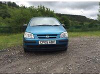 Hyundai Getz 1.1 Gsi petrol 2005