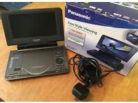 PORTABLE DVD PLAYER, Panasonic