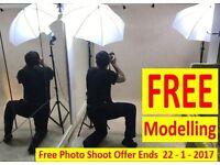 Free Modelling Portrait Photo Shoot ( Offer Ends 22 - 1 – 2017 )