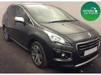 £205.06 PER MONTH GREY 2014 PEUGEOT 3008 1.6 HDi ALLURE 5 DOOR DIESEL MANUAL