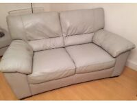 Free - Pair of Leather Sofas (3&2 seater)