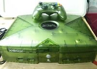 Limited Edition - Green Xbox with 7000+ retro games