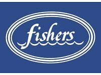 Part Time Waiting staff required for Fishers in the City (City Centre)
