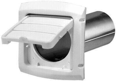 Everbilt Dryer Vent Hood Damper System 4 Inch Hinged Louvere