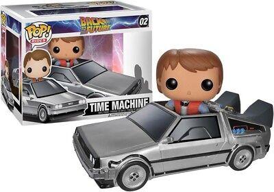 Back to the Future Funko POP! Movies Time Machine Delorean Vinyl Figure