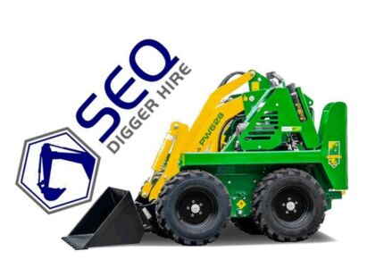 Kanga mini loader/ digger hire