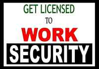 ONLINE SECURITY GUARD TRAINING!