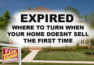 Where to turn to when your home doesn't sell the first time!