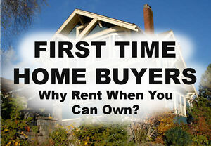 FIRST TIME HOME BUYERS: Why Rent when you can own?