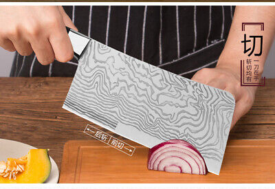 Cleaver Slicing chopping Chef Knife Kitchen Knives stainless steel Cutlery Tool