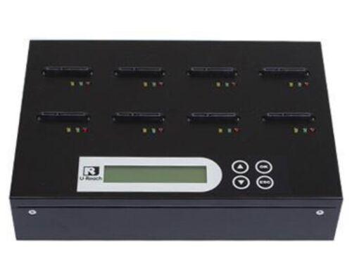 Ureach 1:7 SATA DOM Hard Drive Duplicator 3.9GB/Min - HDD Copier/Eraser DOM9S8