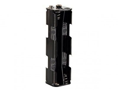 8 Cell Battery Holder - VELLEMAN BH382B BATTERY HOLDER FOR 8 x AA-CELL (WITH SNAP TERMINALS)