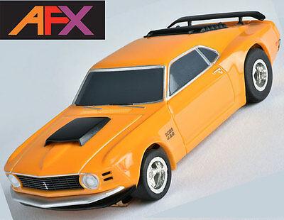 AFX Ford Mustang Boss 429 HO Slot Car Mega G+ MegaG+ Tomy Autoworld AFX21050