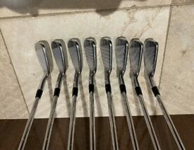 Titleist AP2 710 Forged Irons 3-PW with KBS Tour Stiff Shaft.