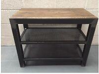 Industrial Tv unit/reclaimed/furniture