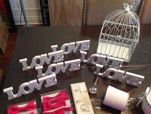 Décoration pour votre mariage MOT LOVE