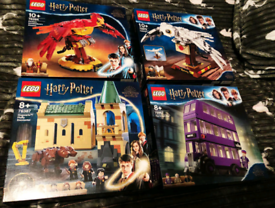 Harry potter lego bundle (sarah's new account pls message on this not