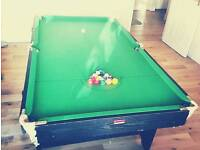 Pool table + extras