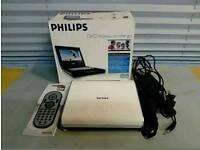 Philips DVD PET720 Widescreen Portable DVD Player