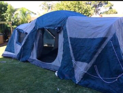 Stockman Weekender 12 Man 3 Room Tent & Coleman Montana 12 man tent | Camping u0026 Hiking | Gumtree Australia ...