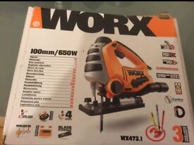 Worx drill and jigsaw