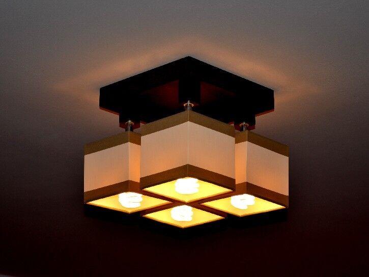 AUSVERKAUF!!! Deckenlampe Deckenleuchte Lampe Leuchte 4 flammig Bristol MU4P