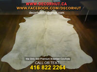 Cow Hide Rug Perfectly Shaped Beautiful Designed Leather