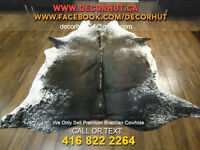 Cowhide Rug Leather Tanned