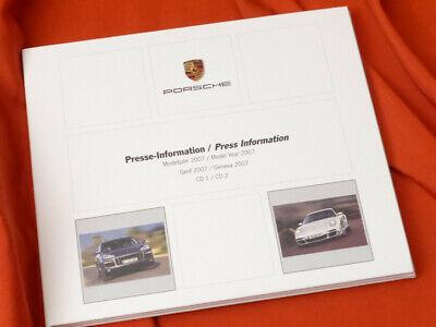 2007 PORSCHE Press Kit Genf Geneva - Cayenne FL 911 Turbo GT3 RS 997-1 - Fl Press Kit