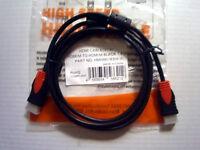 Câbles HDMI 1.4v, 3D, ferrite, de toutes sortes et longueur YYYY