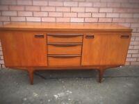 Retro/vintage teak sideboard by greaves and thomas