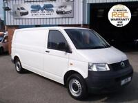 2006 55 VOLKSWAGEN TRANSPORTER 1.9 T30 TDI LWB 104BHP ONE OWNER FROM NEW 127K MI