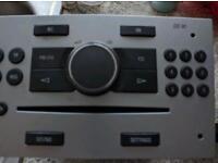Vauxhall zafira cd30 stereo