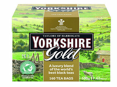 Taylors of Harrogate Yorkshire Gold Tea 160-Count Tea Bags