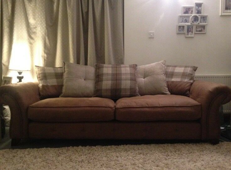 2 X Dfs Fairfield Sofas