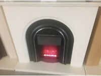 Elmont Electric fire and cream surround