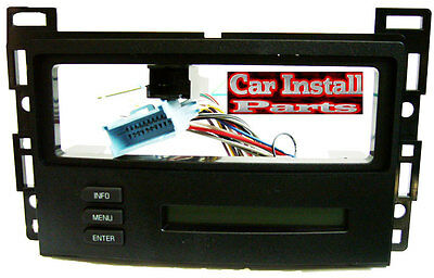Pontiac G6 2005 Radio Dash Kit Single Din Install W Onstar Digital Driver Rap Ebay