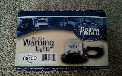 Vehicle Warning Lights 6610c Preco Led Hide-away Lighthead Clear