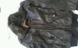 American leather jacket