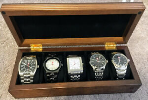 Set of 5 Men's Swiss Army Watches (Brand New In Box)
