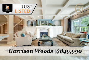 EXECUTIVE  3503 SQFT 3 BED GARRISON WOODS/ALTADORE HOME FOR SALE