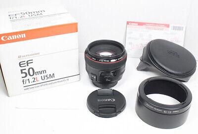 CANON EF 50mm L F/1.2 USM Lens for EOS 1Dx 1D 1Ds 7D 5D II III IV 60D 70D 6D etc