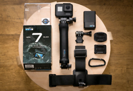 GoPro HERO Black 7 & Accessories Bundle